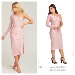 SMYM Asymmetrical Ansley Bodycon Dress S L